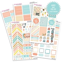 KAD Weekly Planner Kit - Happy Day