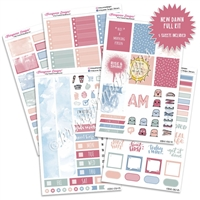 KAD Weekly Planner Kit - New Dawn