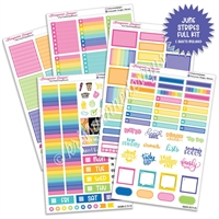 KAD Weekly Planner Kit - 2021 June Stripes