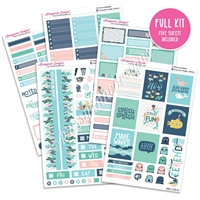 KAD Weekly Planner Kit - Under the Sea