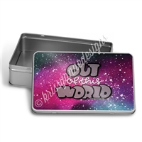 GO Wild 2018 Rectangle Gift Tin - Out of this World
