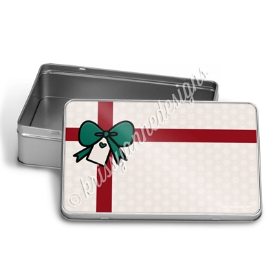 Rectangle Gift Tin - Christmas Magic