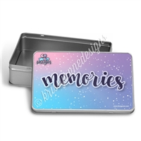 Rectangle Gift Tin - Memories - Wild Dreams