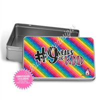 Rectangle Gift Tin - 9 Years of KAD