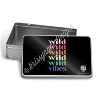Rectangle Gift Tin - Wild Vibes