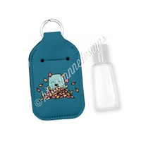 Rectangle Sanitizer Keychain - Fall Steve