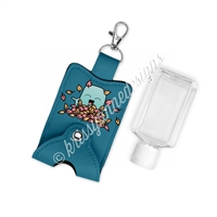 Snap Sanitizer Keychain - Fall Steve