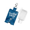 Snap Sanitizer Keychain - Winter Penguin