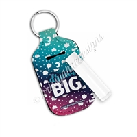 Rectangle Lip Balm Keychain - Dream BIG