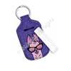 Rectangle Lip Balm Keychain - Sunset Llama