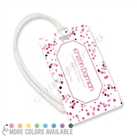 KAD Luggage Tag - Multi-Colored Spots