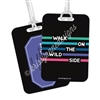 Metal Luggage Tag - Wild Side