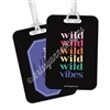 Metal Luggage Tag - Wild Vibes