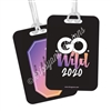 Metal Luggage Tag - GW2020 Ombre - Planners & Palm Trees