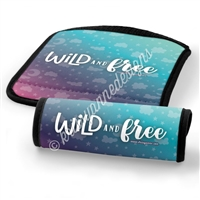 Luggage Handle Wrap - Wild and Free