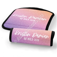 Luggage Handle Wrap - Name - Planners & Palm Trees