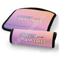 Luggage Handle Wrap - Planners & Palm Trees