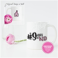 KAD Exclusive Mug - 9 Year Anniversary Exclusive