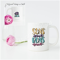 KAD Exclusive Mug - Suns Out