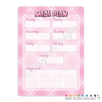 Meal Plan Dry Erase Board - 9x12