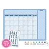 Monthly Calendar Dry Erase Board - 12x9