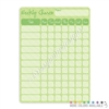 Chore Chart Dry Erase Board - 9x12