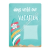 Beach Vacation Countdown Board - 9x12