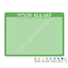 Personalized Dry Erase Board - 12x9