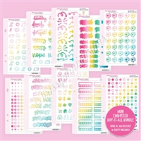 Mini Embossed Buy-It-All Bundle - Colorful