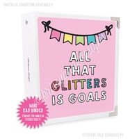 Mini KAD Sticker Binder - All That Glitters