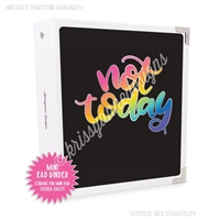 Mini KAD Sticker Binder - Not Today
