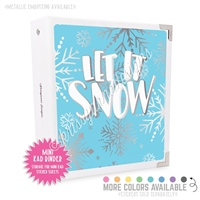 Mini KAD Sticker Binder - Let it Snow