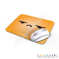 Rectangle Mouse Pad - Side Eye Steve