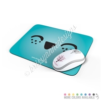 Rectangle Mouse Pad - Happy Steve