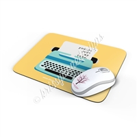 Rectangle Mouse Pad - My Type