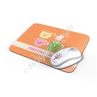 Rectangle Mouse Pad - Positivi-Tea