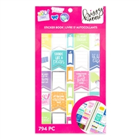 Krissyanne Designs Crafting & Planning Sticker Book - Limited