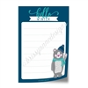 "4x6"" Note Pad - Hello Winter"