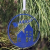 Acrylic Ornament - Personalized Santa Silhouette Ornament