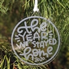 Acrylic Ornament - The Year We Stayed Home (2020)