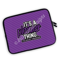 One Sided Zippered Planner Pouch - It's a Planner Thing