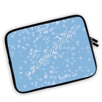 One Sided Zippered Planner Pouch - Splatter