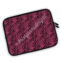 One Sided Zippered Planner Pouch - Zebra