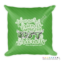 18x18 Throw Pillow - Planner Friends