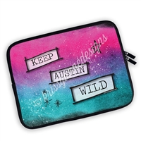 One Sided Zippered GO Wild 2018 Planner Pouch - Keep Austin Wild