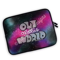 One Sided Zippered GO Wild 2018 Planner Pouch - Out of This World
