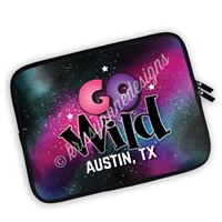 One Sided Zippered GO Wild 2018 Planner Pouch - GO Wild Austin