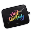 Zippered Planner Pouch - Not Today