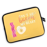Zippered Planner Pouch - Bacon My Heart