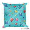 18x18 Throw Pillow - Happy Steve